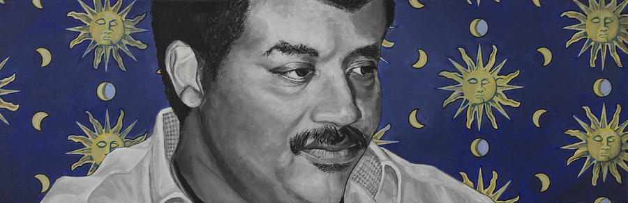 Neil Degrasse Tyson Painting