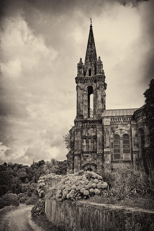 Neo Gothic Chapel Photograph