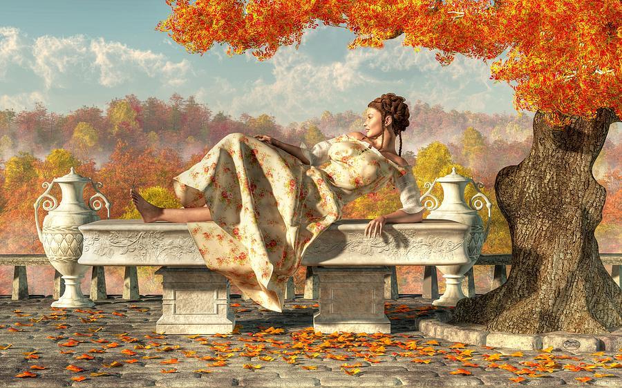 Neoclassical Fall Digital Art By Daniel Eskridge