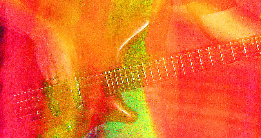 Abstract Photograph - Neon Bass Fusion by James Hammen