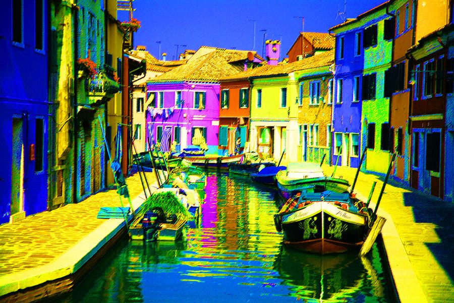 Neptunes Canal Digital Art
