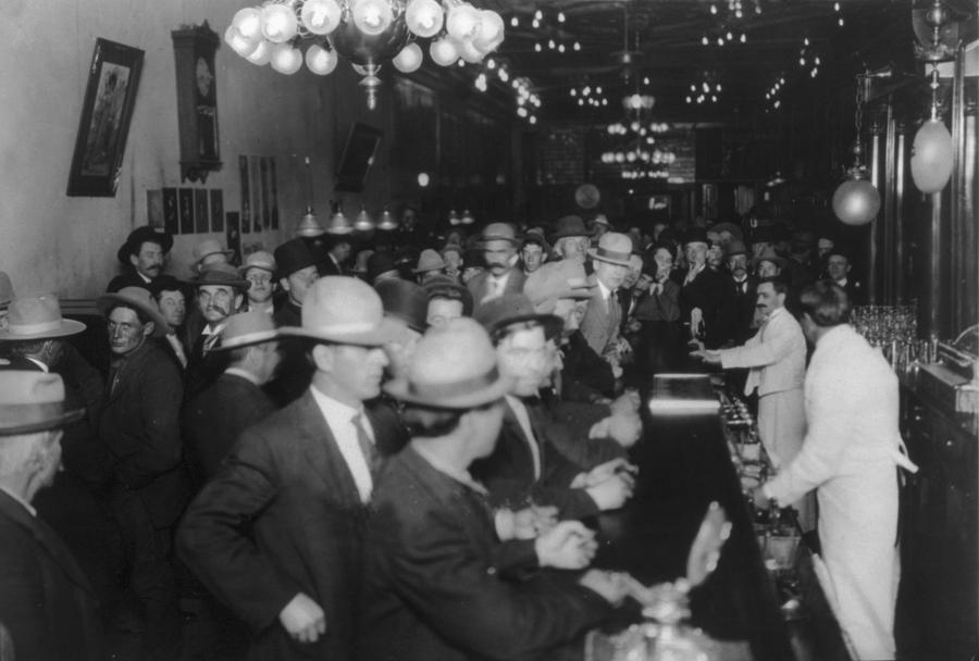 Nevada, Open Gambling In Reno, Looking Photograph
