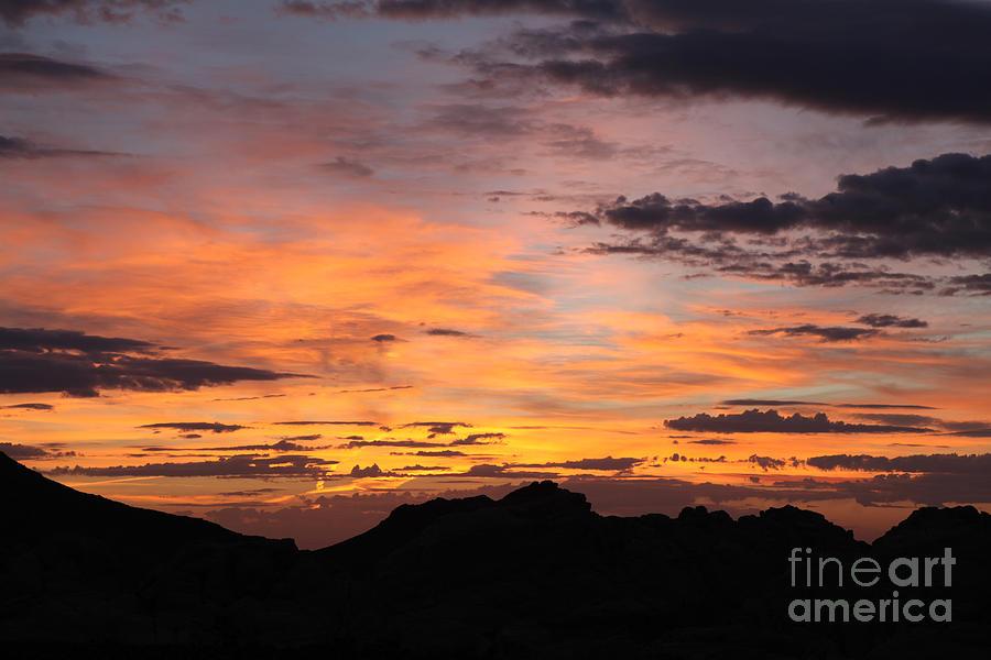 Sunrise Photograph - Nevada Sunrise by Trekkerimages Photography