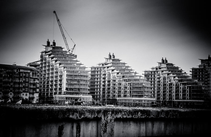 New Apartments In Battersea Photograph  - New Apartments In Battersea Fine Art Print