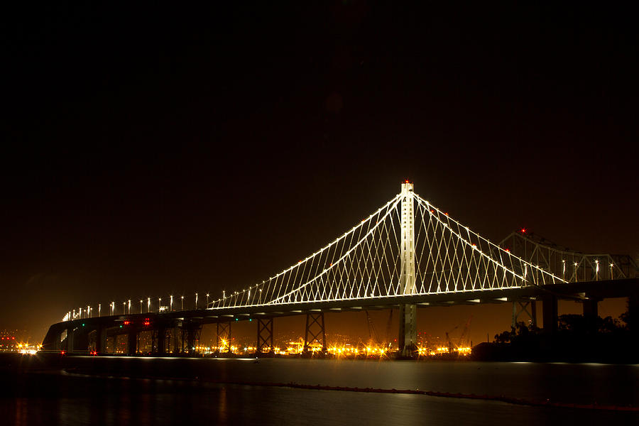 New Bay Bridge Photograph  - New Bay Bridge Fine Art Print