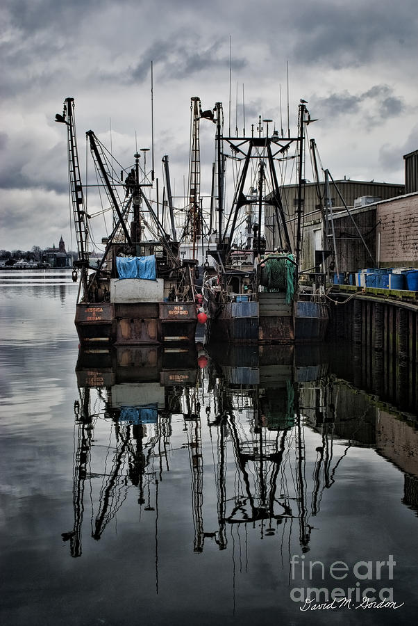 New Bedford Waterfront No. 1 - Color Photograph