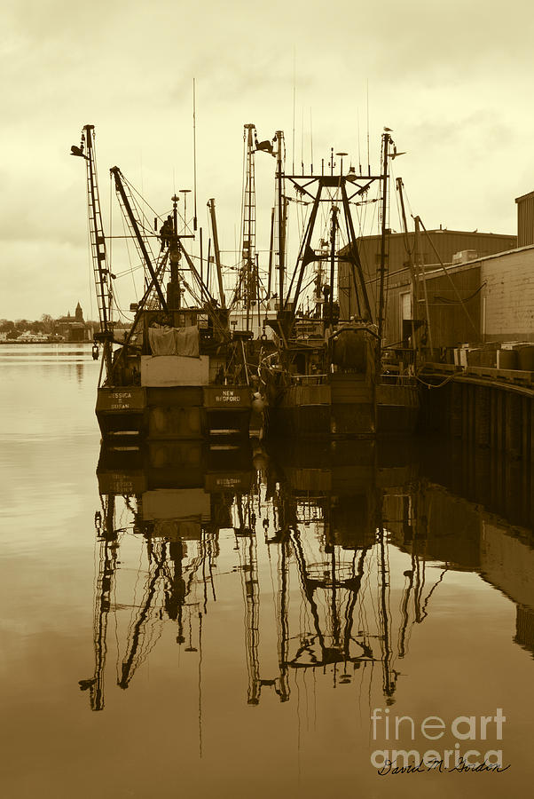 New Bedford Waterfront No. 1 Photograph
