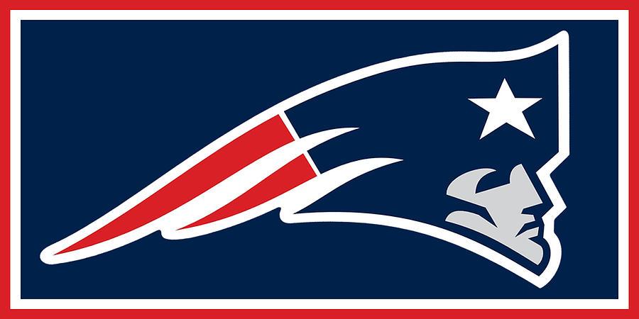 Nfl Painting - New England Patriots by Tony Rubino