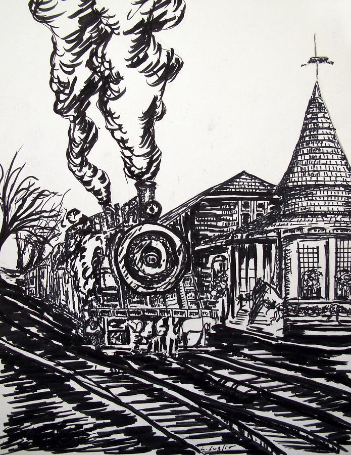 modern railway station sketch wwwpixsharkcom images