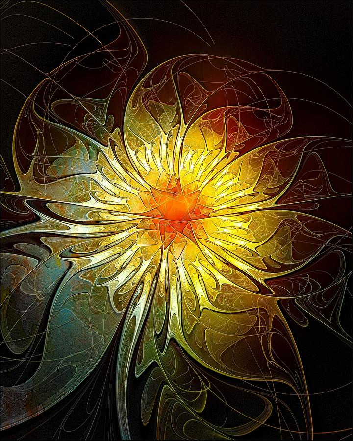 New Life Digital Art  - New Life Fine Art Print