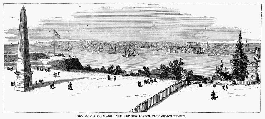 1881 Photograph - New London, Connecticut by Granger