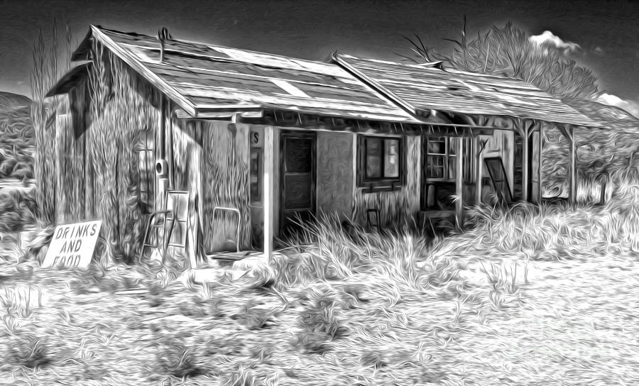 New Mexico Haunted Shack Photograph