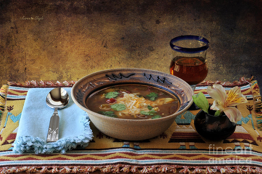 New Mexico Style Green Chile Stew Photograph  - New Mexico Style Green Chile Stew Fine Art Print