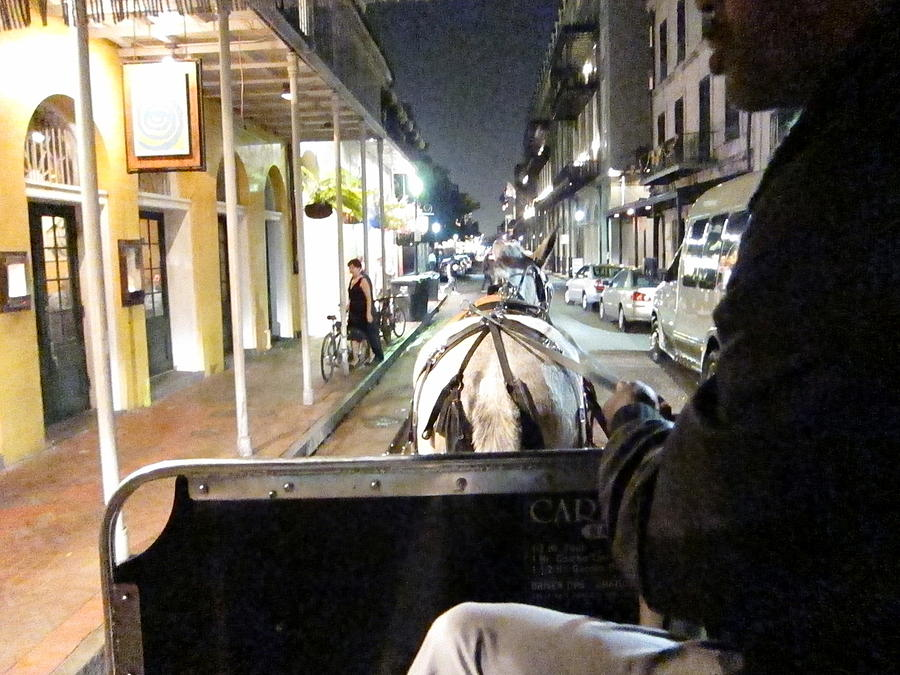 New Orleans - City At Night - 121212 Photograph