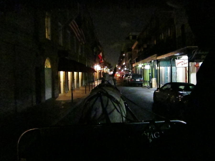 New Orleans - City At Night - 12129 Photograph  - New Orleans - City At Night - 12129 Fine Art Print