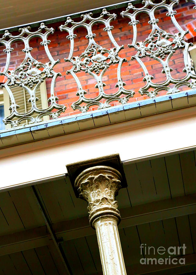 New Orleans Photograph - New Orleans Column by Carol Groenen