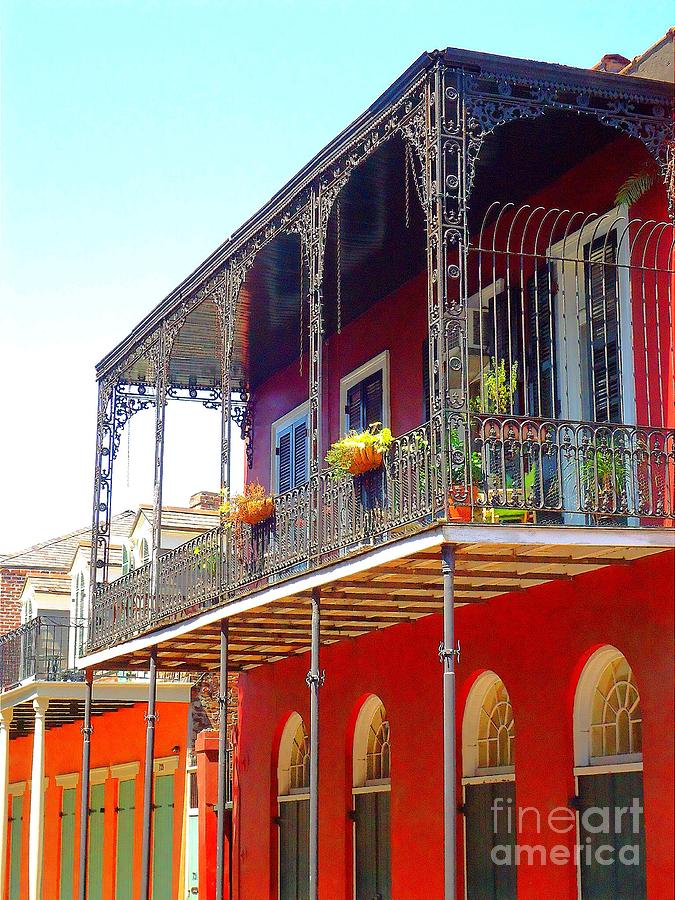 New Orleans French Quarter Architecture 2 Photograph By Saundra Myles