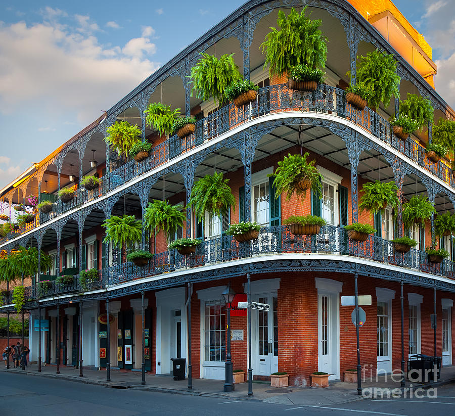 New Orleans House Photograph