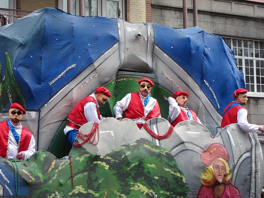 New Orleans - Mardi Gras Parades - 121294 Photograph