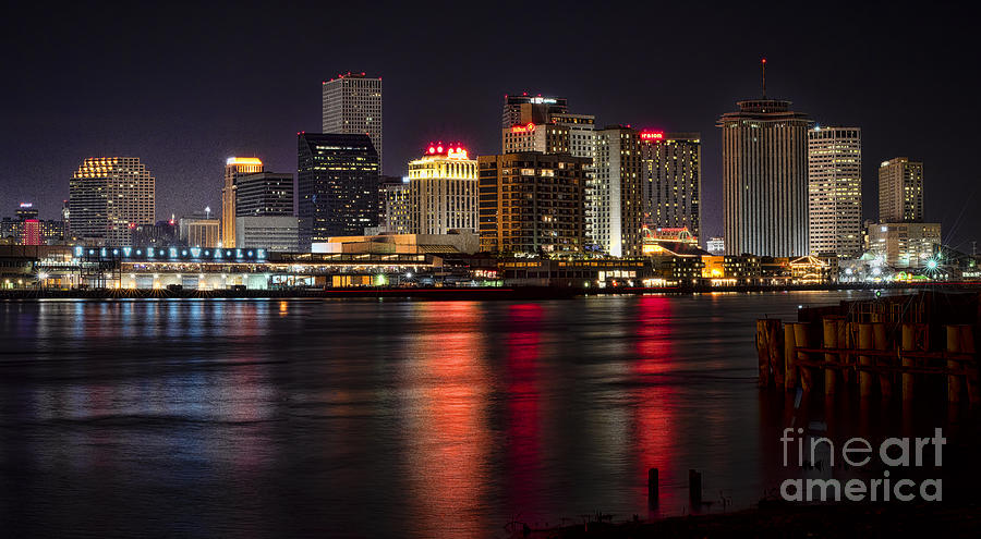 New Orleans Skyline Photograph