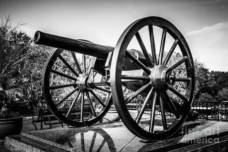 New Orleans Washington Artillery Park Cannon Photograph  - New Orleans Washington Artillery Park Cannon Fine Art Print