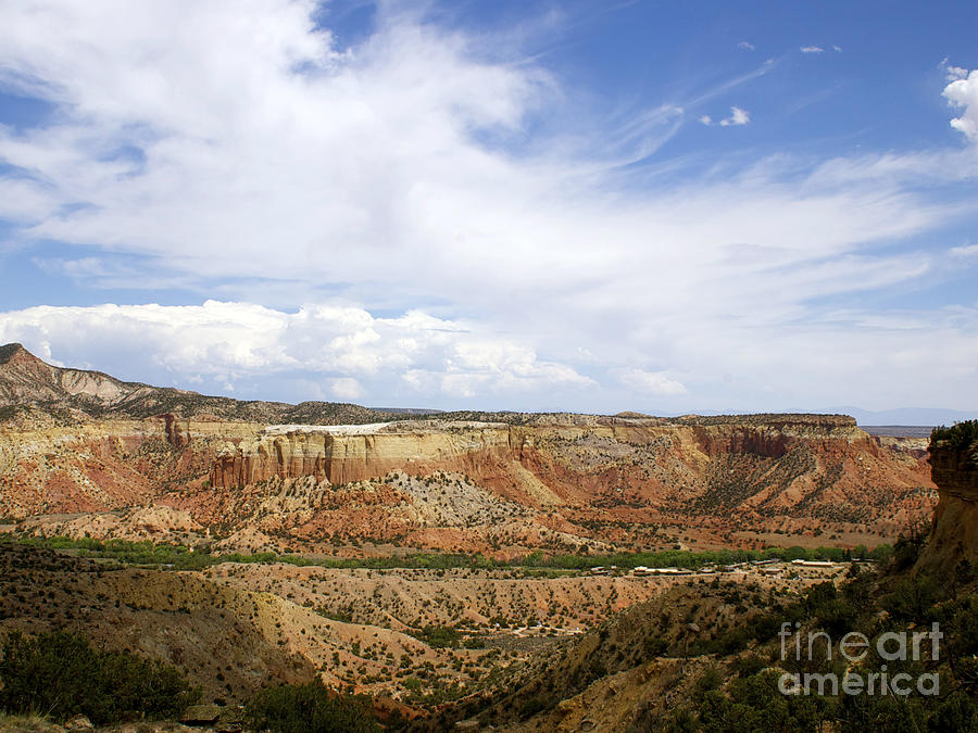 New Photographic Art Print For Sale Ghost Ranch New Mexico