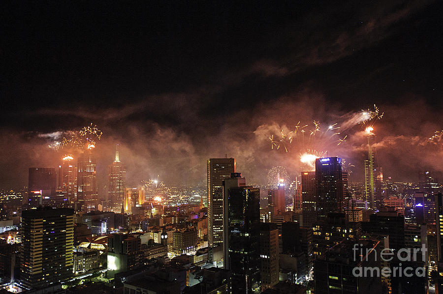New Year Fireworks Photograph