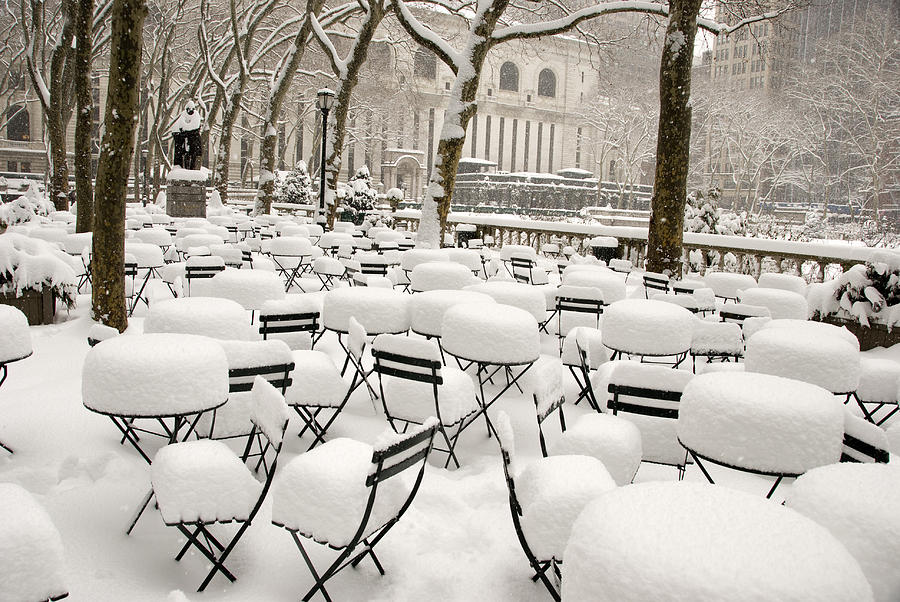New York After Snow Photograph