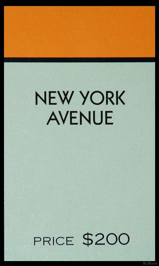 New York Avenue Photograph  - New York Avenue Fine Art Print
