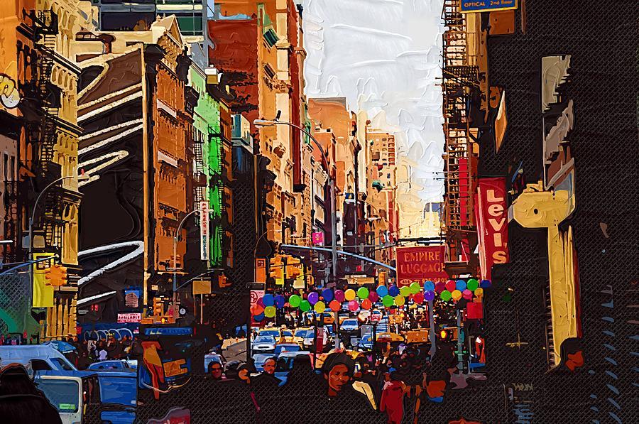 New York City 149 Painting