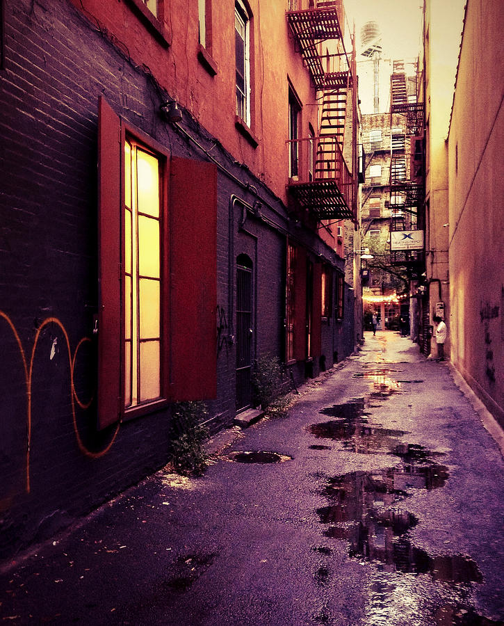 New York City Alley Photograph