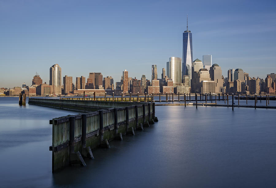 Financial District Photograph - New York City Financial District by Susan Candelario