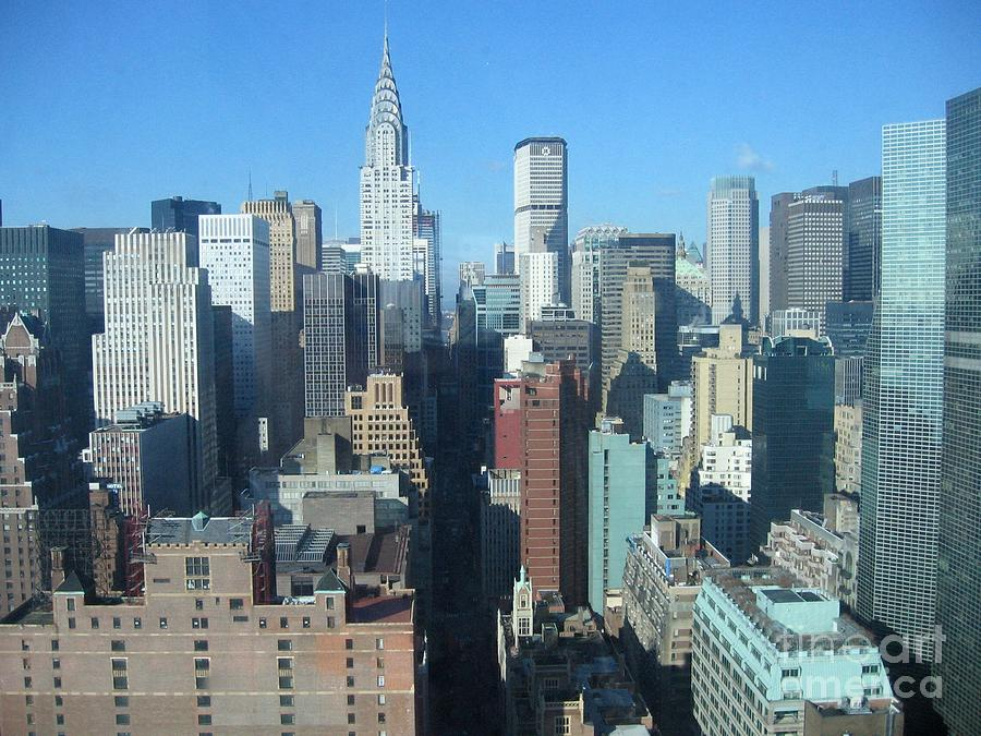 New York City Skyline Photograph