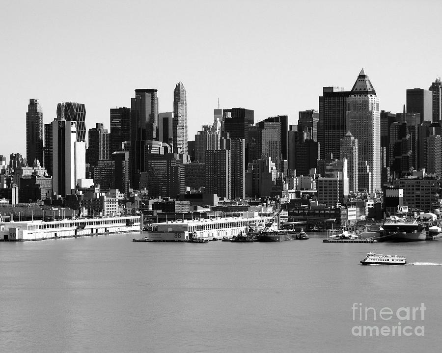 New York City Skyline Black And White Drawing New York City Skyline Drawing