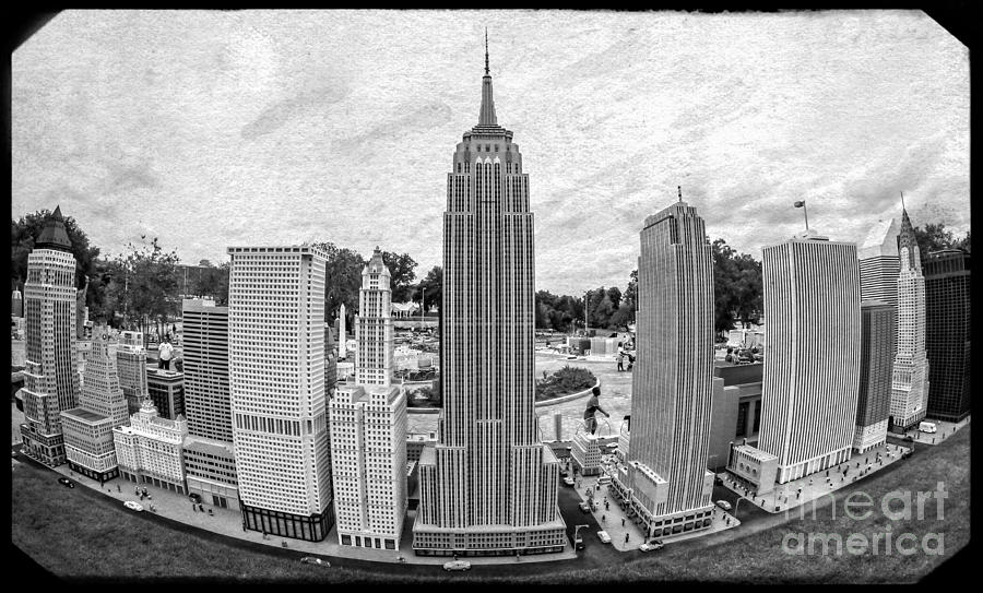 New York City Skyline - Lego Photograph