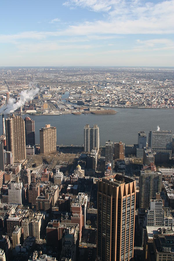 New Photograph - New York City - View From Empire State Building - 121219 by DC Photographer