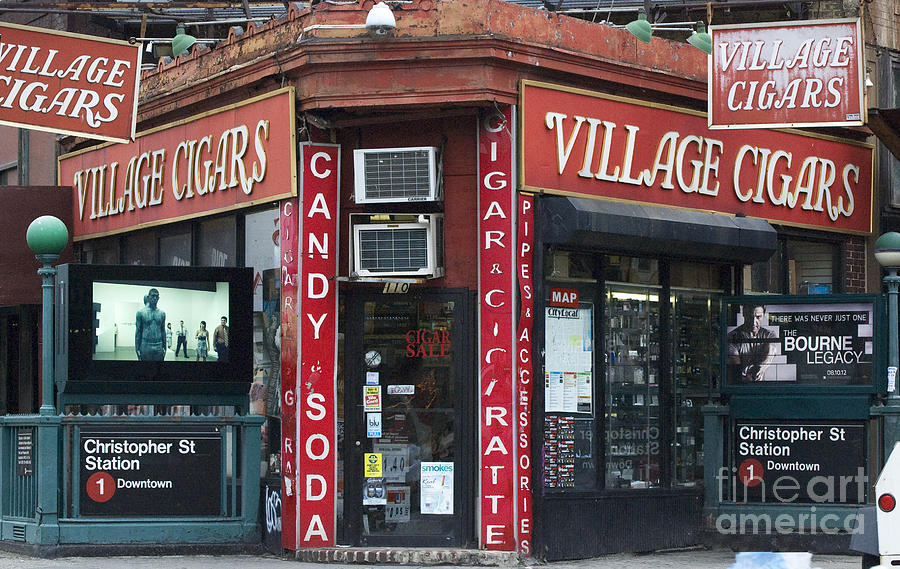 New York City Village Cigars  Photograph  - New York City Village Cigars  Fine Art Print