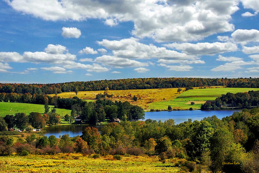New York Countryside Photograph  - New York Countryside Fine Art Print