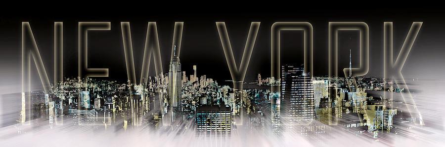 New York Digital-art No.2 Photograph