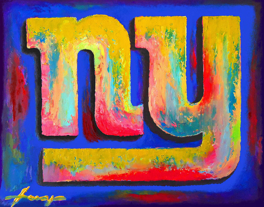 New York Giants Painting  - New York Giants Fine Art Print