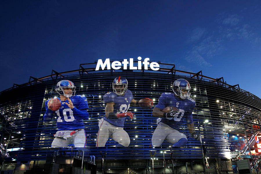 New York Giants Metlife Stadium Photograph  - New York Giants Metlife Stadium Fine Art Print