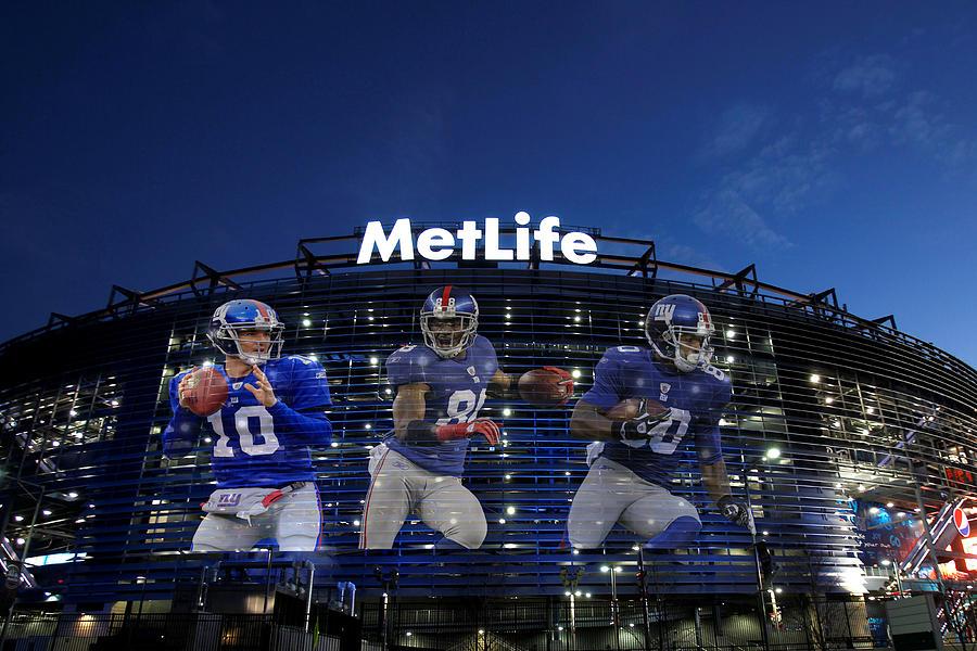 New York Giants Metlife Stadium Photograph