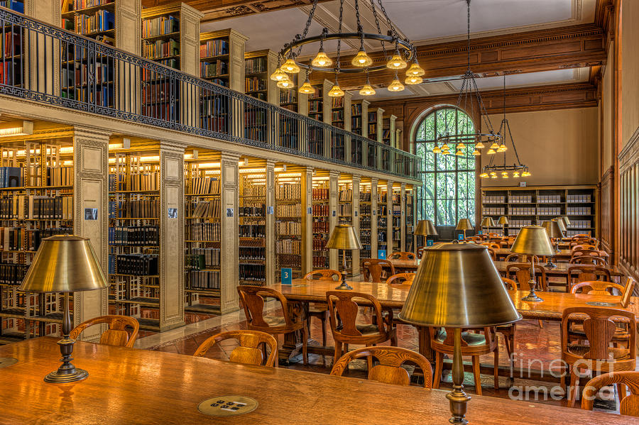 New York Public Library Genealogy Room I Photograph