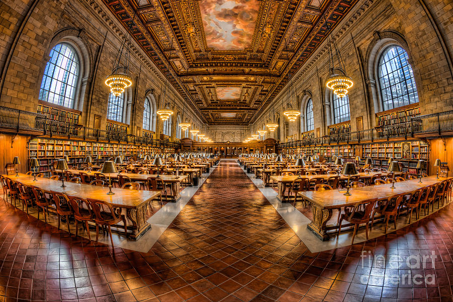 New York Public Library Reading Room Sha excelsiororg