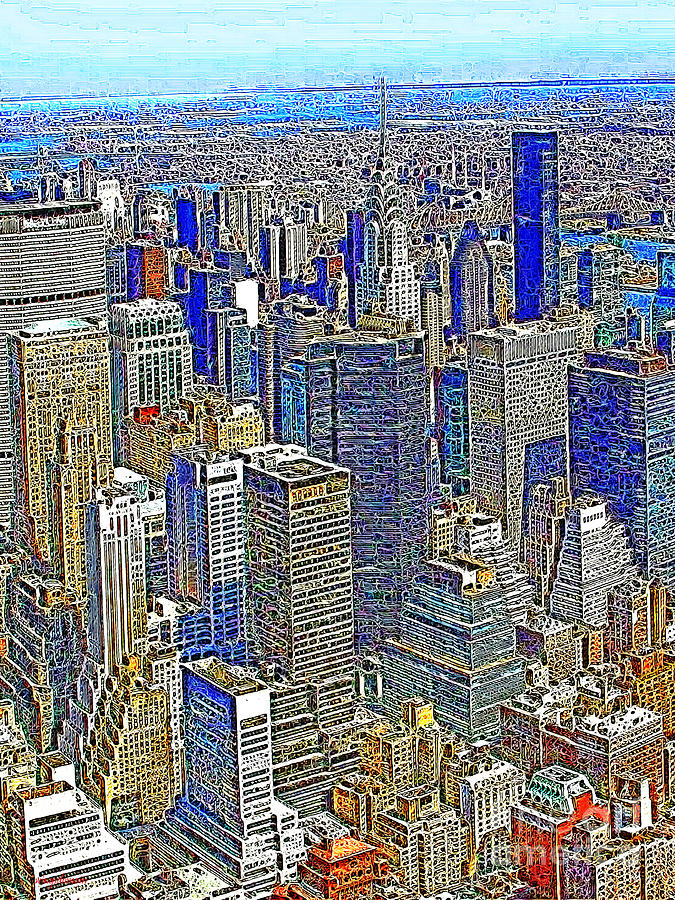 New York Skyline 20130430v2 Photograph