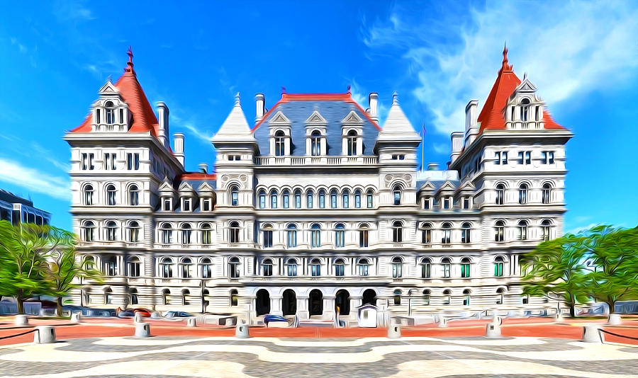 New York State Capitol Painting