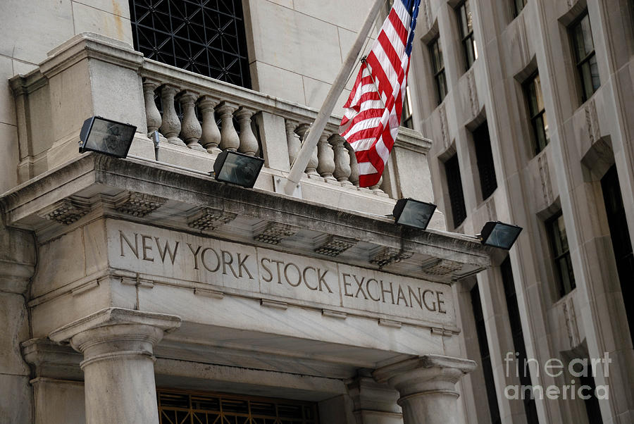 New York Stock Exchange Building Photograph  - New York Stock Exchange Building Fine Art Print
