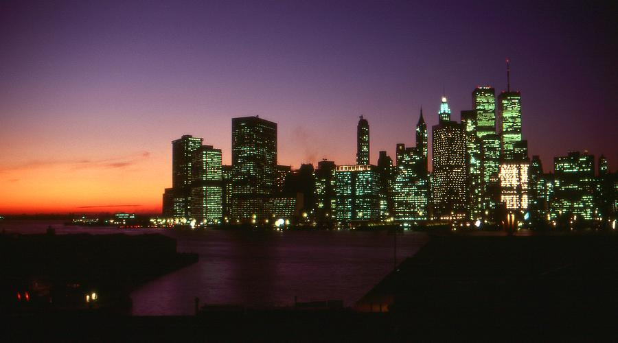 New York Sunset Photograph  - New York Sunset Fine Art Print