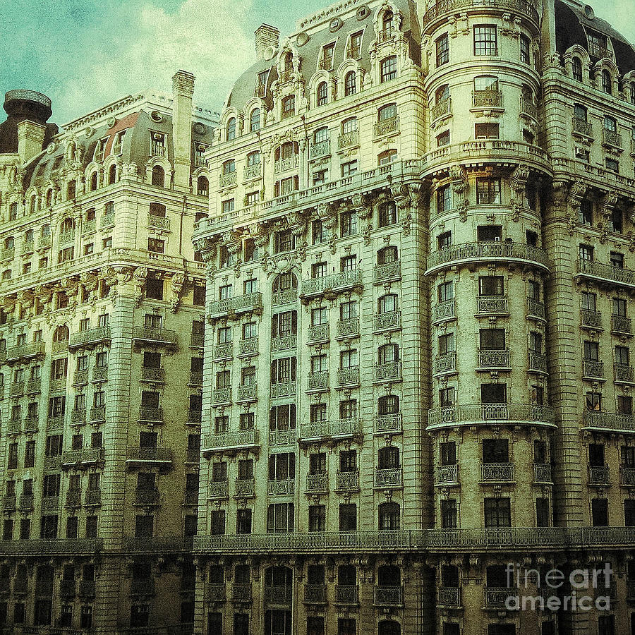 New York Upper West Side Apartment Building Digital Art