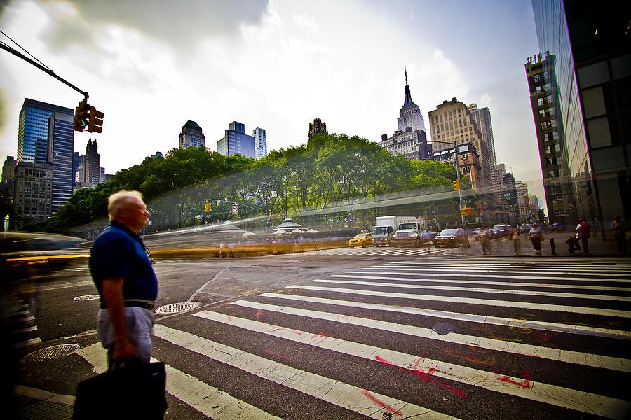New York - Waiting... Photograph